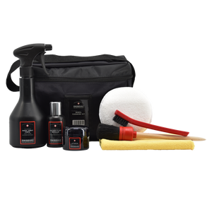 WHEEL CLEANING KIT with acid-free wheel cleaner and wheel wax