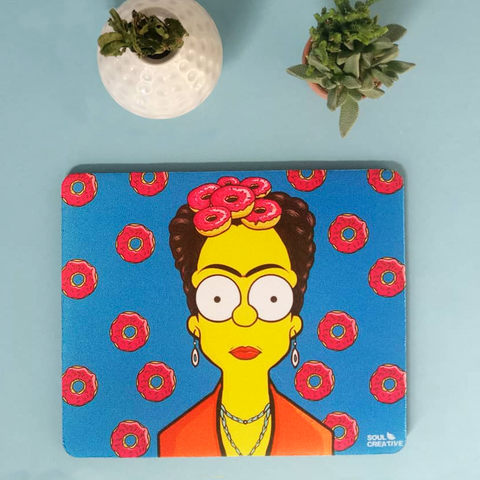 Mouse Pad Frida Simpsons