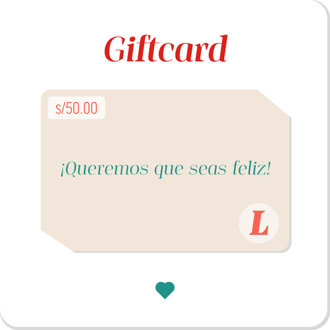 Giftcard s/50