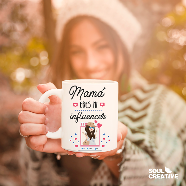 Taza Mama Influencer
