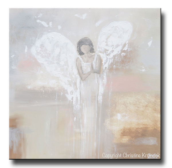 Abstract Angel Paintings On Canvas