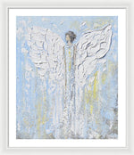 Angel Beside You - Framed Print