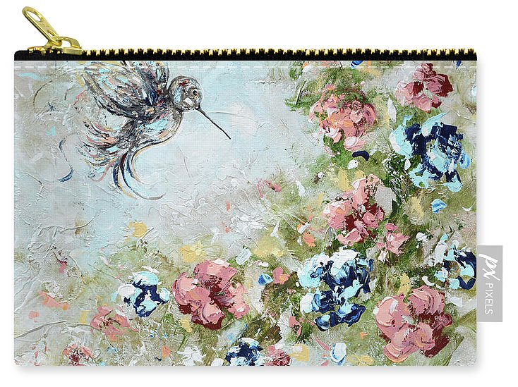 Hummingbird Bringing Light And Love - Carry-All Pouch