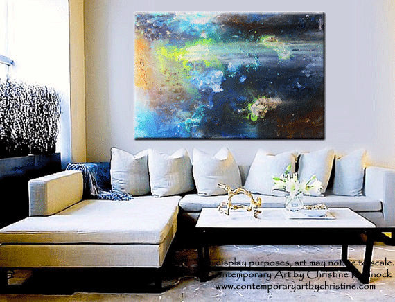 Custom Based On Sold Original Art Abstract Painting Modern