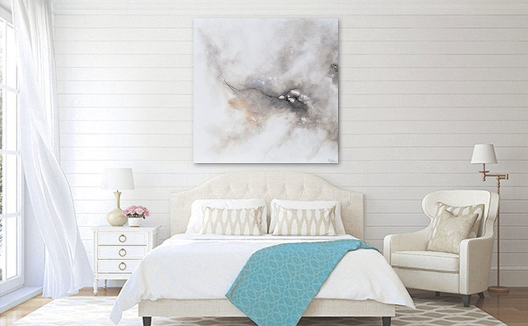 Contemporary art by christine original abstract modern for Blank canvas designs wall art