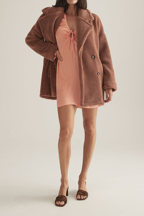 Brinsley Jacket Terracotta
