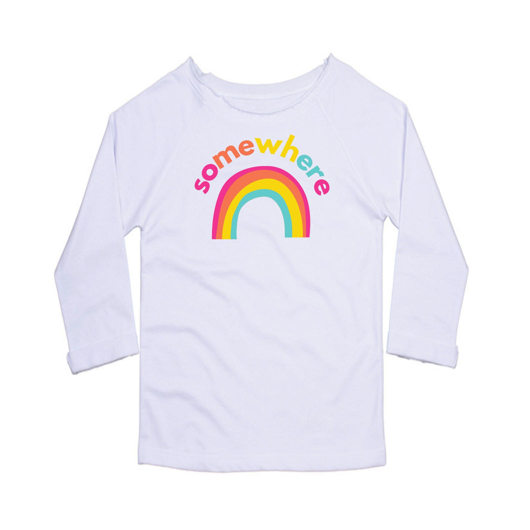 Somewhere Over The Rainbow, Ladies Flash Dance Sweatshirt