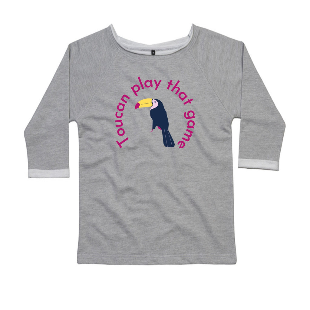 Toucan Play That Game, Ladies Flash Dance Sweatshirt by stray funk design