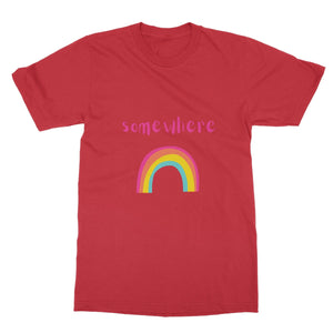 Somewhere Over The Rainbow Softstyle T-Shirt
