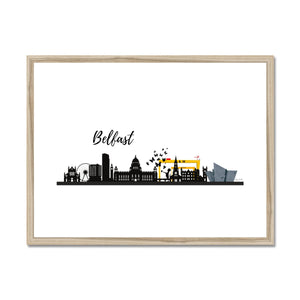 Free Your Stray Funk In Belfast Framed & Mounted Print