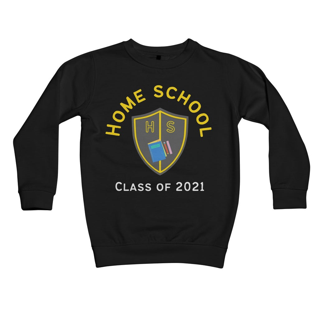 Home School Kids Sweatshirt by stray funk design