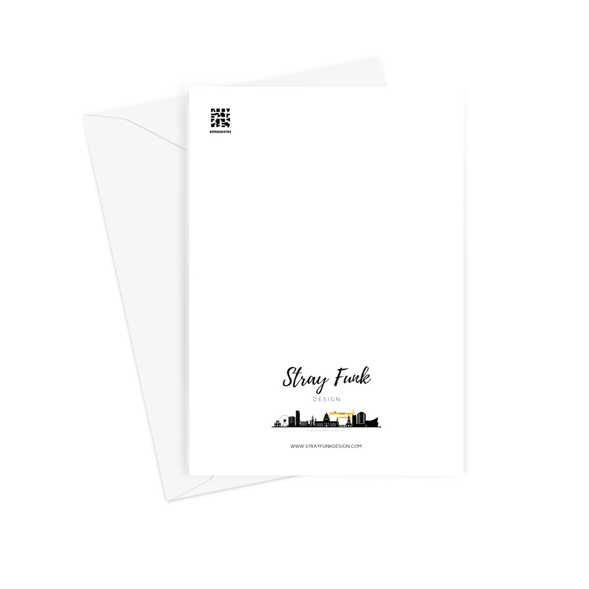F***s Given - Zero Greeting Card