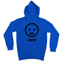 Load image into Gallery viewer, Ragin (Black) Kids Hoodie by stray funk design