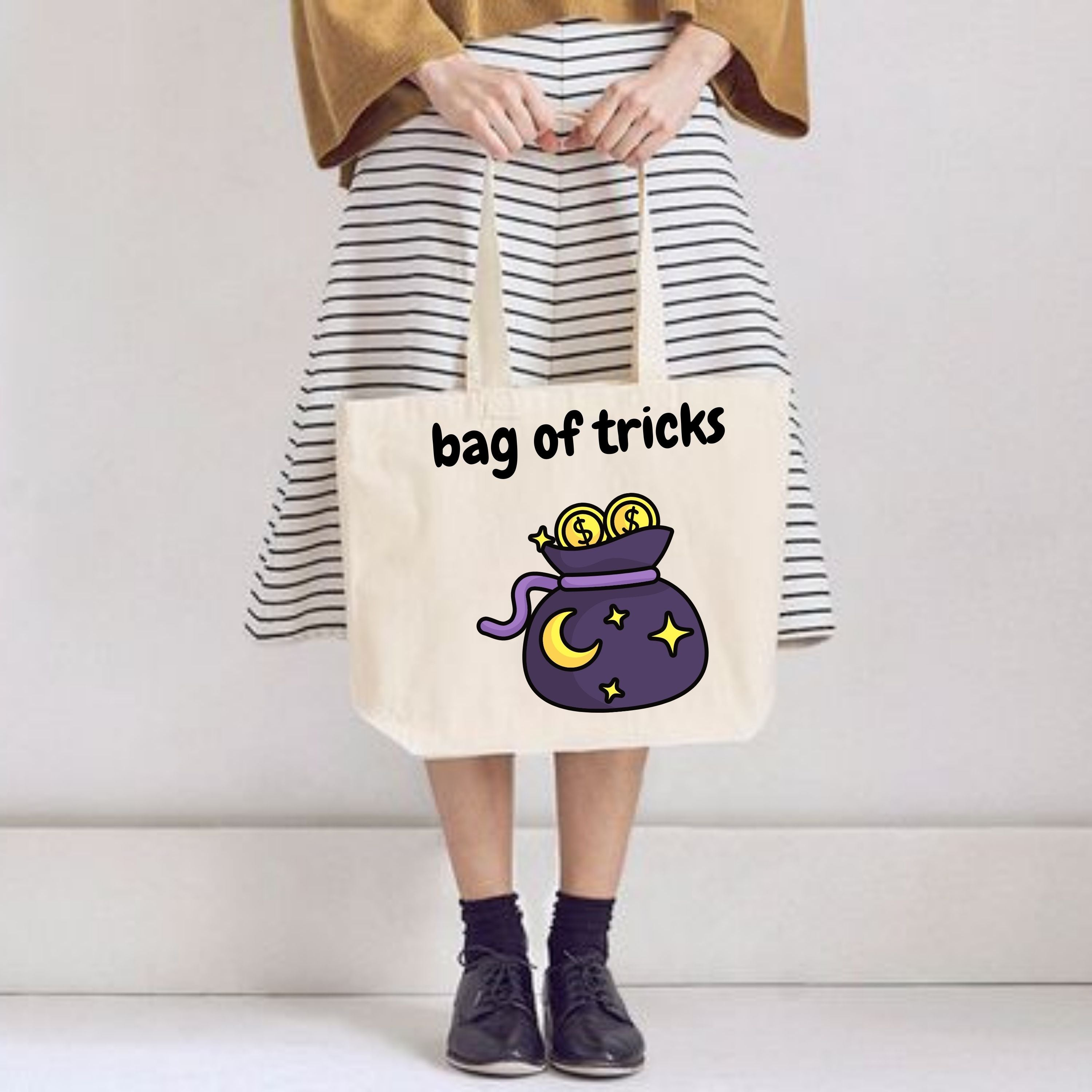 Bag Of Tricks 100% Organic Forever Bag by stray funk design