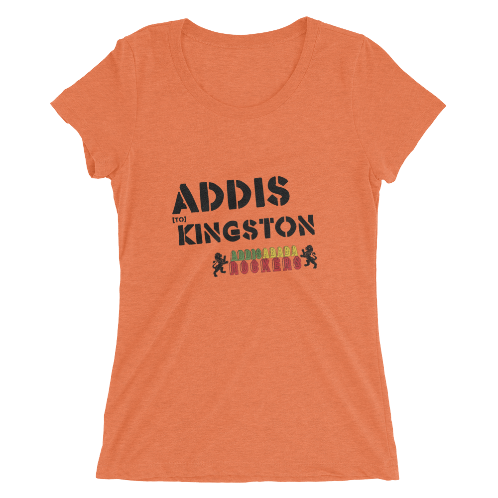Addis to Kingston Ladies' Short Sleeve T-shirt