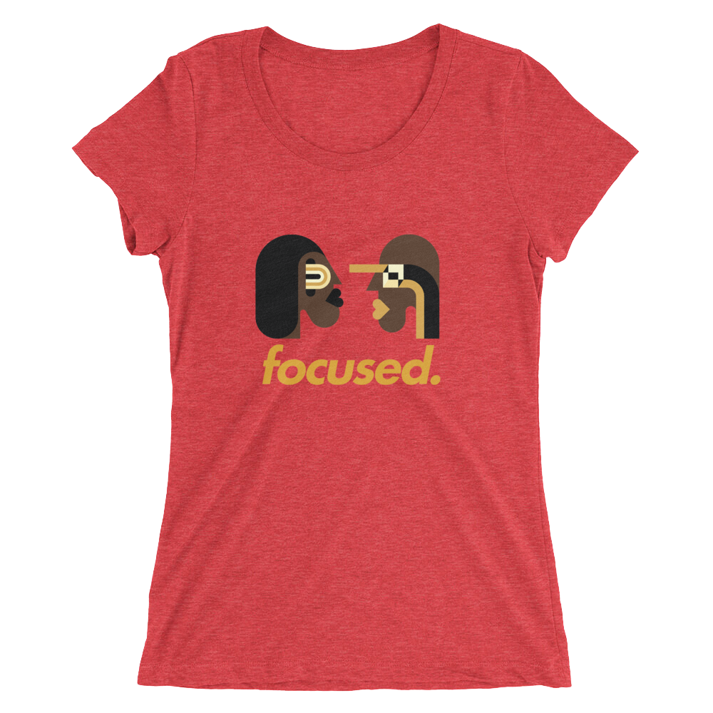 Focused Ladies' Short Sleeve T-Shirt