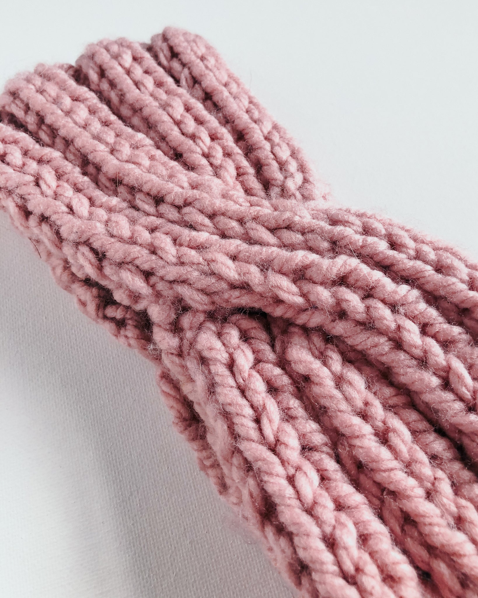 Blush Pink Ear Warmer