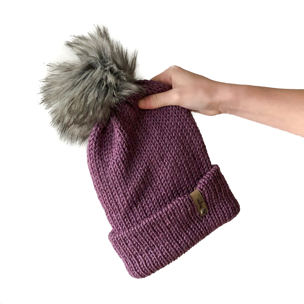 Double Knit Pom Beanie - Kobuk Valley