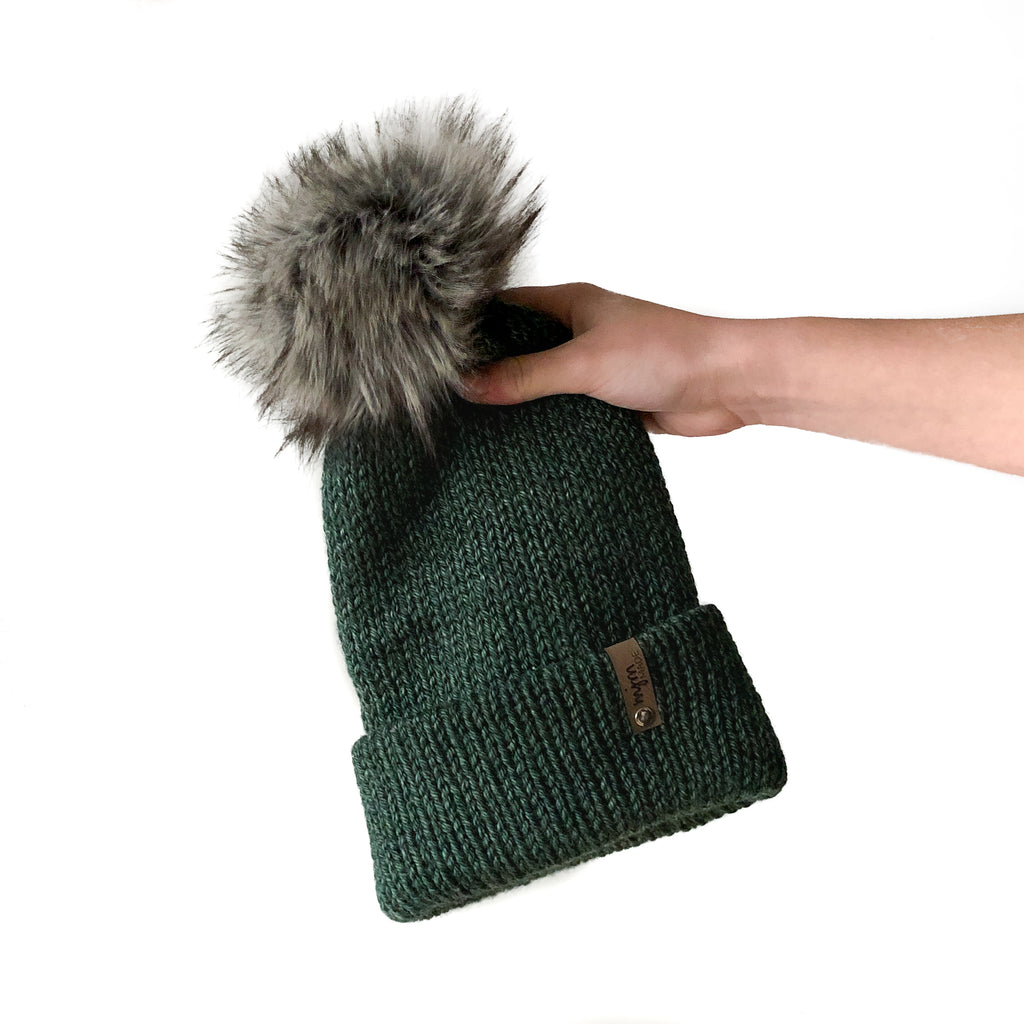 Double Knit Pom Beanie - Kings Canyon