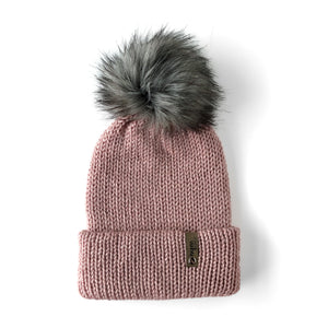 Double Knit Pom Beanie - Capitol Reef