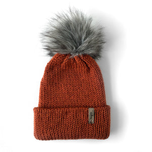 Double Knit Pom Beanie - Yosemite