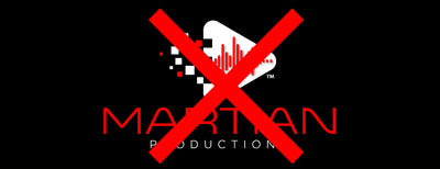 Martian Productions is Gone