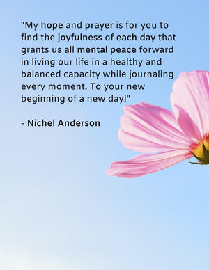 "Journal ""It's A New Day"""