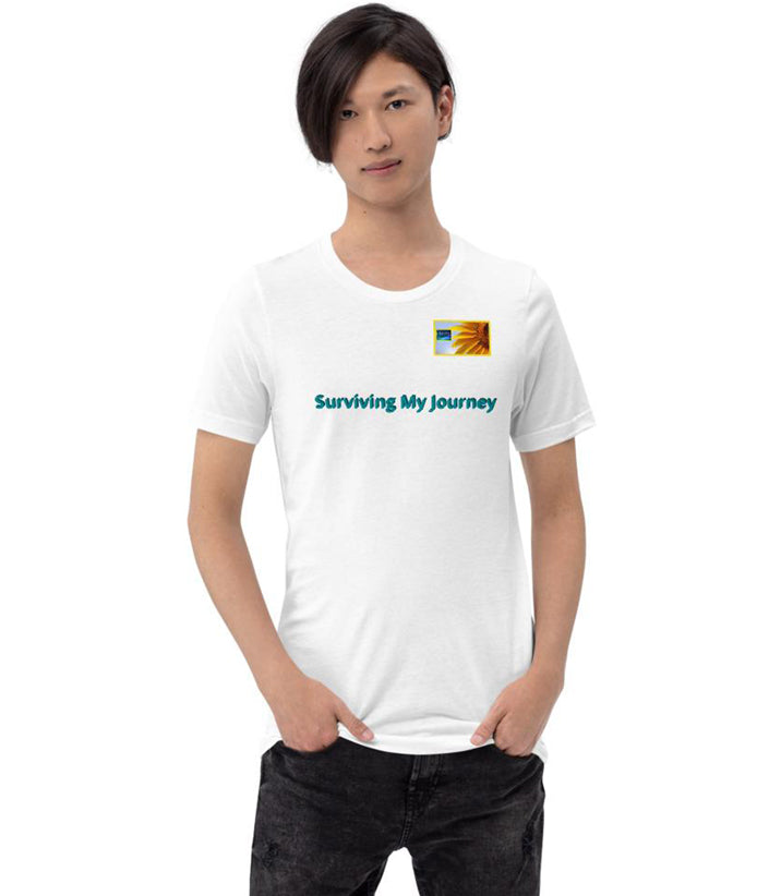 "Tshirt ""Surviving My Journey"" Podcast Show Short-Sleeve"