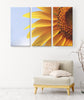 """Sunflower Burst"" Wall Canvas - Its A New Day Collection"