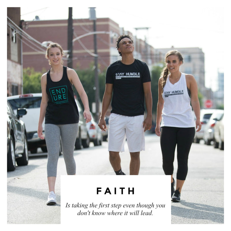 Empower Your Spirit and Break Your Limits with these Active Faith Apparel shirts.