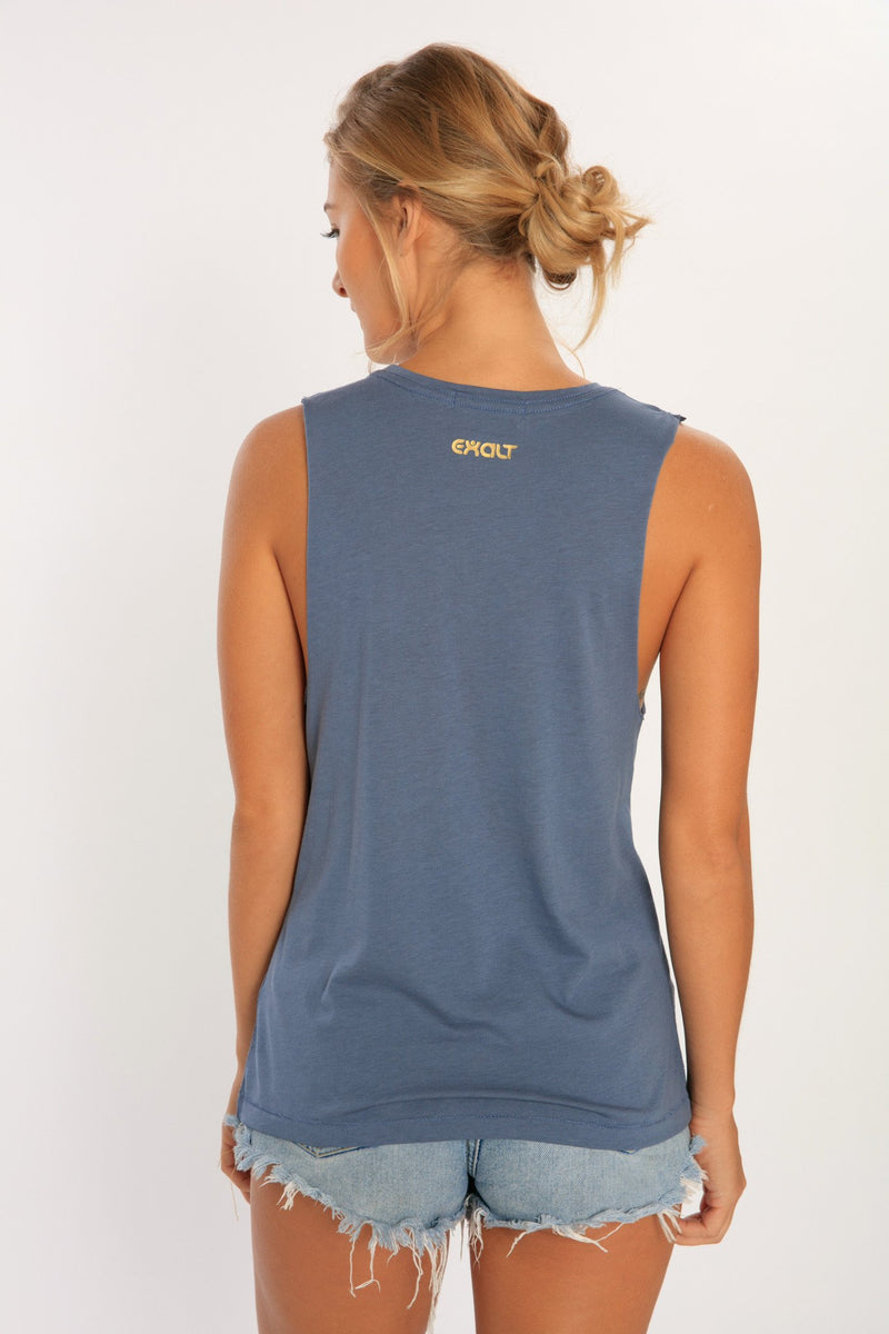 Yoga muscle tank top