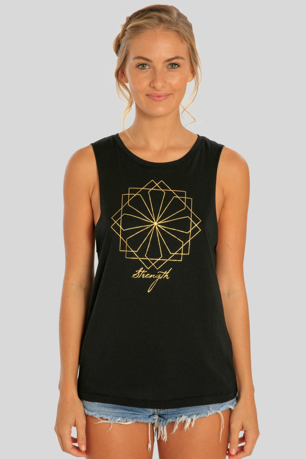 Womens Faith Yoga Muscle Tank