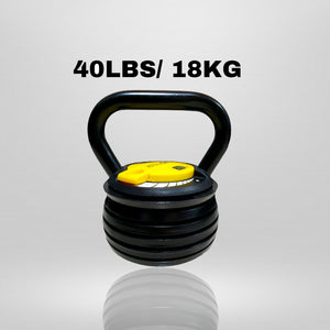LISTER® Adjustable Kettlebell Inspected in Singapore