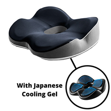 Load image into Gallery viewer, LISTER® Space Memory Foam Cushion With Japanese Cooling Gel Inspected in Singapore