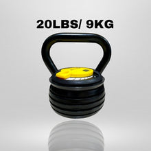 Load image into Gallery viewer, LISTER® Adjustable Kettlebell Inspected in Singapore