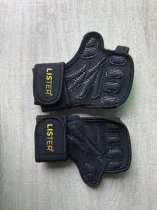 LISTER® Ventilated Weight Lifting/Cross Fit Sports Gloves with Built-In Wrist Wraps, Full Palm Protection & Extra Grip. Inspected in Singapore