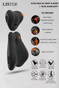 LISTER® Car Massager 1 Year Warranty Inspected in Singapore
