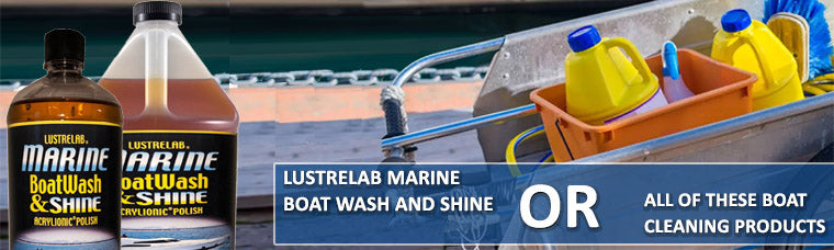 Replace All Boat Washing Supplies with 1 Marine Boat Wash and Shine