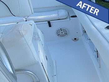 Boat deck After Boat Wash and Shine