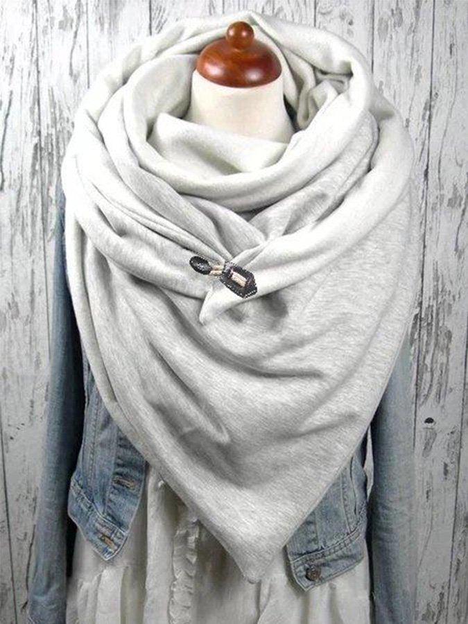 Solid Casual Scarves