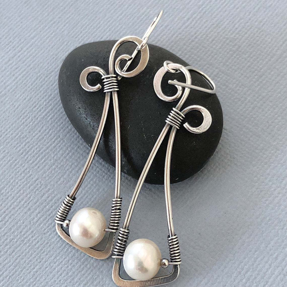 Sliver Casual Alloy Earrings