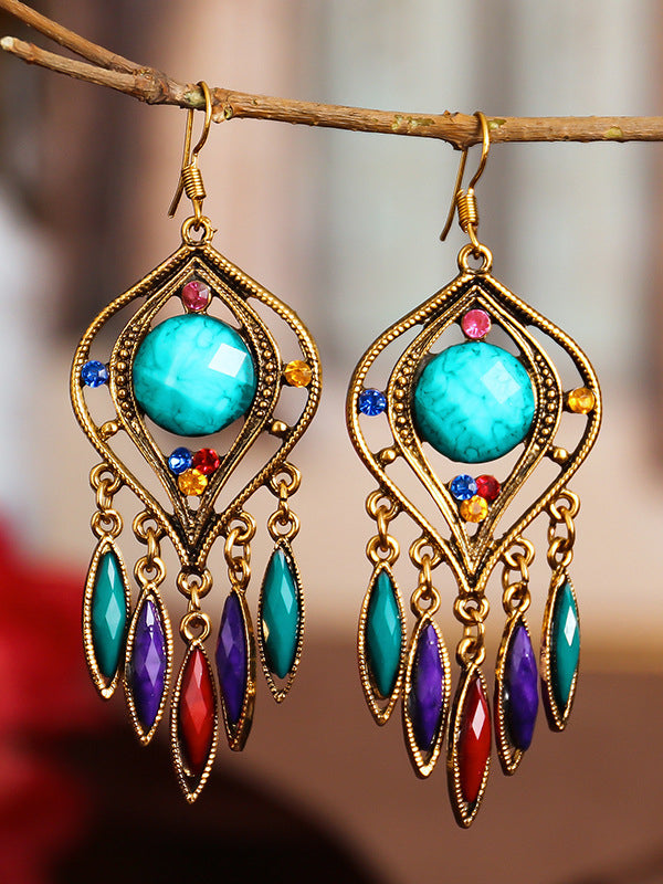 Vintage Gorgeous Alloy Earrings