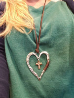 Women Necklace Heart