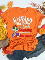 I Am A Grumpy Old Lady Graphic Tee