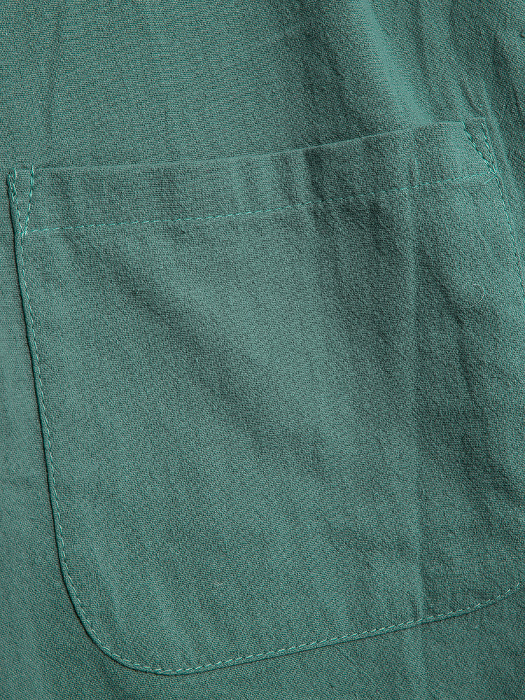 Green Buttoned Vintage Pants