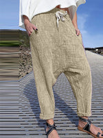 Shift Casual Cotton-Blend Pants