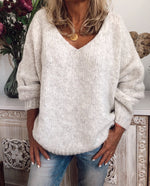 Solid Long Sleeve Sweater