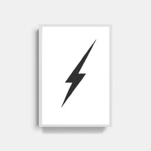 Load image into Gallery viewer, Thunder Bolt Print