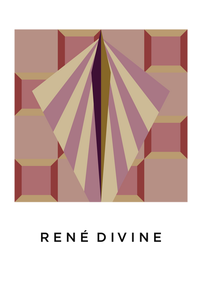 Title: RENÉ DIVINE  .  A2 Framed, Limited Edition Giclee Print