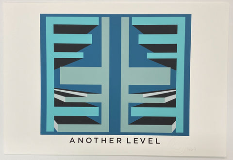 Title: ANOTHER LEVEL.  A2 Framed, Limited Edition Giclee Print